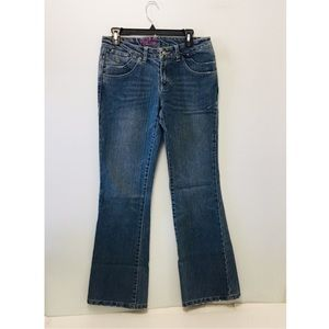 New Blue Stretch Bootcut Jeans